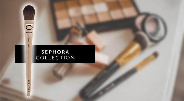 Pennello fondotinta Sephora Collection 01
