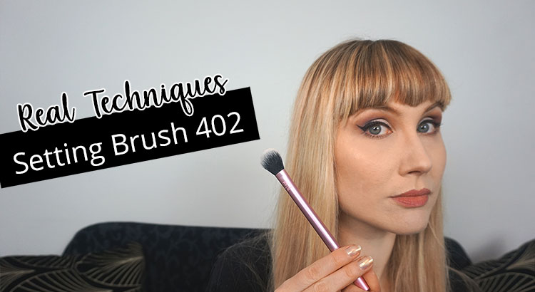 Recensione Pennello Real Techniques 402 Setting Brush